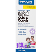 Top Care Children's Triacting Nighttime Cough & Cold Relief
