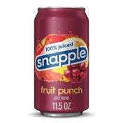Snapple 100% Juiced Fruit Punch Juice Drink