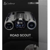 Cobra Radar Detector and Dash Camera, 2 in 1, Road Scout, Elite