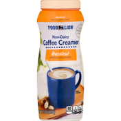 Food Lion Coffee Creamer, Non-Dairy, Hazelnut