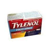 Tylenol Extra Strength Cold & Sinus Daytime & Nighttime Caplets