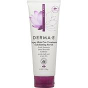 DERMA E Exfoliating Scrub, Crepey Skin Pre-Treatment