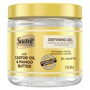 Suave Defining Gel Castor Oil & Mango Butter