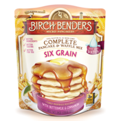 Birch Benders Pancake & Waffle Mix, Six Grain