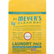 Mrs. Meyer's Clean Day Laundry Pacs, Honeysuckle Scent
