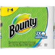 Bounty White Double Rolls Paper Towels
