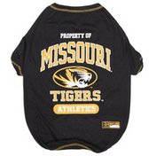 Doggie Nation Missouri Tigers Dog Tee Shirt