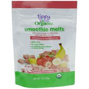 Tippy Toes Organic Banana Strawberry Smoothie Melts