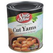 Shurfine Fancy Select Cut Yams Sweet Potatoes In Syrup