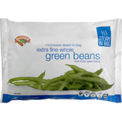 Hannaford Steam-in-Bag Extra Fine Whole Green Beans