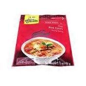 Asian Home Gourmet Spice Paste for Thai Red Curry (Kaang Daeng)