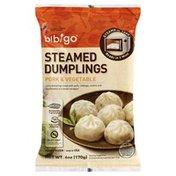 Bibigo Dumplings, Steamed, Pork & Vegetable