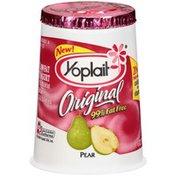 Yoplait Lowfat Pear Yogurt