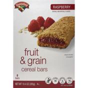 Hannaford Fruit & Grain Cereal Bars Raspberry