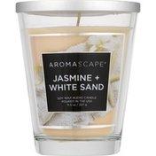 Aromascape Candle, Jasmine+White Sand, Jar