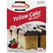Manischewitz Cake Mix, Yellow, with Fudge Frosting