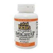 Natural Factors Mixed Carotenoid Complex 25,000 Iu