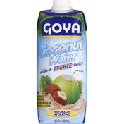 Goya Pure Coconut Water with Lychee