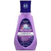 Crest Pro-Health Complete Anticavity Fluoride Rinse Clean Mint Mouthwash