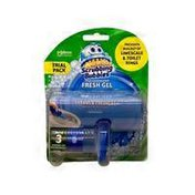 Scrubbing Bubbles Toilet Cleaning Stamp Fresh Gel