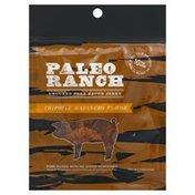 PALEO RANCH Jerky, Uncured Pork Bacon, Chipotle Habanero Flavor