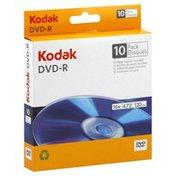 Kodak DVD-R, 16x, 4.7 gb