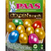 PAAS Egg Decorating Kit, Golden Shimmer