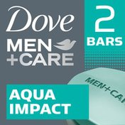 Dove Men + Care Body And Face Bar Aqua Impact