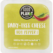 Good Planet Cheese Slices, Dairy-Free, Hot Pepper