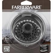 Farberware Sink Strainer, Stainless Steel