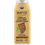 Maty's Cough Syrup, Organic, Children's, Coco Mint