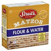 Streit's Matzos, Flour & Water