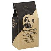 Cervantes Coffee Coffee, 100% Arabica, Whole Bean, Medium Dark, Colombia Huila