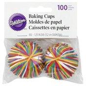 Wilton Baking Cups, Color Wheel, Mini, 1.25 Inch Diameter