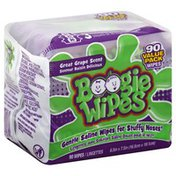 Boogie Wipes Saline Wipes, Great Grape Scent, Value Pack