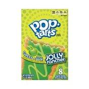 Kellogg's Pop-Tarts Breakfast Toaster Pastries Frosted Green Apple Jolly Rancher