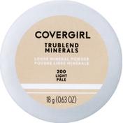 CoverGirl Powder, Loose Mineral, Translucent Light 410