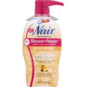 Nair Hair Remover, Moisturizing, Brazilian Spa Clay