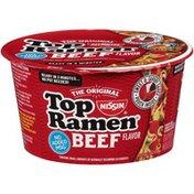 Nissin Beef Flavor Ramen Noodles