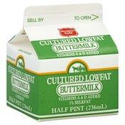 Meadow Gold Buttermilk, Cultured, Lowfat, 1% Milkfat