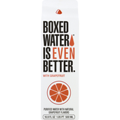 Boxed Water Purified Water, with Grapefruit