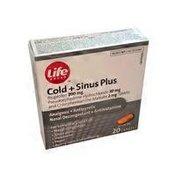 Life Brand Cold & Sinus Plus Tablets