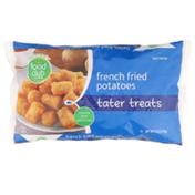 Food Club Tater Treats French Fried Potatoes