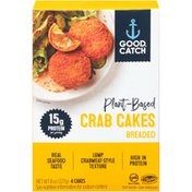 Good Catch Plant-Based Breaded Crab Cakes