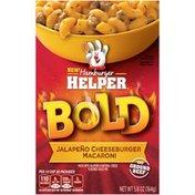 Betty Crocker Bold Jalapeno Cheeseburger Macaroni Hamburger Helper