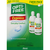 Opti-Free Express Multi-Purpose Disinfecting Solution - 2 PK