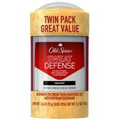 Old Spice Red Zone Old Spice® Red Zone® Sweat Defense® Swagger® Scent Men's Extra Strong Anti-Perspirant & Deodorant 2.6 oz Twin Pack  Male AP/DO & Body Spray