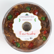 Chuckanut Bay Foods Traditional Fruitcake Wreath