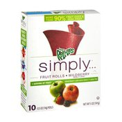 Fruit Roll-Ups Simply Wildberry Fruit Rolls - 10 CT