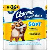 Charmin Essentials Soft Toilet Paper Charmin Essentials Soft Toilet Paper 12 Huge Rolls